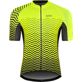 GORE WEAR C3 Maillot de cyclisme Homme, neon yellow/black